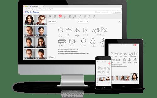 Varsity Tutors Live Learning Platform