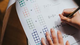 1st Grade Math Class
