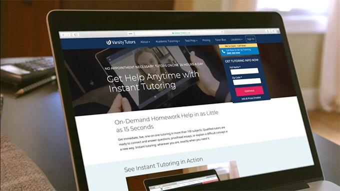 instant tutoring video