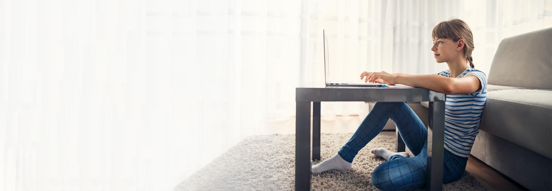 Online focused desktop