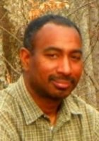 A photo of Allen, a tutor from Morehouse College