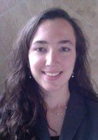A photo of Amy, a tutor from Johns Hopkins University