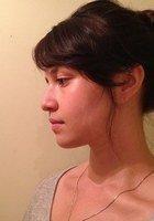 A photo of Godiva, a tutor from Washington University in St Louis