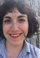 A photo of Allie, a tutor from Oberlin College