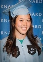 A photo of Keeley, a tutor from Barnard College