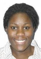 A photo of Nkiruka, a tutor from Rochester Institute of Technology