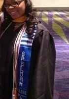 A photo of Sierra, a tutor from Spelman College