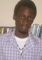 A photo of David, a tutor from Fourah Bay College (University of Sierra Leone)