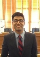 A photo of Ahad, a tutor from Davidson College