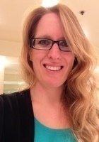A photo of Laura, a tutor from CSU Sacramento