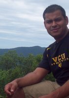 A photo of Manuel, a tutor from Virginia Commonwealth University