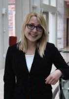 A photo of Mallory, a tutor from Washington University in St Louis