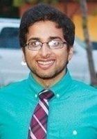 A photo of Salman, a tutor from U.C. Berkeley
