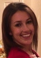 A photo of Kristina, a tutor from Stonehill College