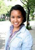 A photo of Joanne, a tutor from Santa Clara University