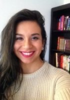 A photo of Mercedes, a tutor from University of Maryland-Baltimore County