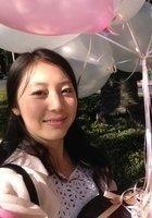 A photo of Clivia Wanjun, a tutor from Nanjing Forestry University (NFU)