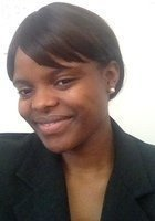 A photo of Ndeh, a tutor from Howard University
