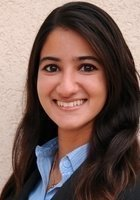 A photo of Karishma, a tutor from Northwestern University