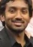 A photo of Vivek, a tutor from Austin College