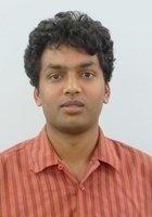 A photo of Arjun, a tutor from Boston University