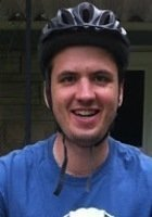 A photo of John, a tutor from Oberlin College