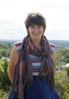 A photo of Abby, a tutor from Earlham College