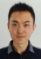 A photo of Zhupeng, a tutor from Beijing Technology and Business University