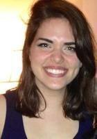 A photo of Sarah, a tutor from Boston College
