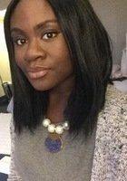 A photo of Christina, a tutor from Howard University