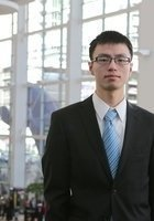 A photo of Zhengli, a tutor from Huazhong University of Science and Technology