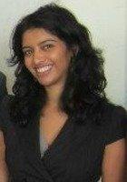 A photo of Priya, a tutor from Georgetown University