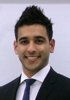 A photo of Feroz, a tutor from Benedictine University