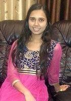 A photo of Ayushi, a tutor from Arizona State University