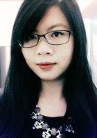 A photo of Yi-Ju, a tutor from National Taiwan University