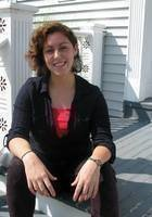 A photo of Veronica, a tutor from Oberlin College