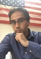 A photo of Dhinakaran, a tutor from University of Pennsylvania