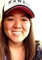 A photo of Chelsey, a tutor from Chaminade University of Honolulu