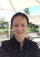 A photo of Luo, a tutor from Xi'an University of Finance and Economics