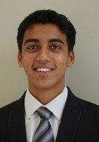 A photo of Rohil, a tutor from Johns Hopkins University