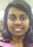 A photo of Saranya, a tutor from Susquehanna University