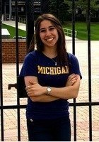 A photo of Julie, a tutor from University of Michigan