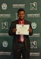 A photo of Seibou, a tutor from Northwest Missouri State University