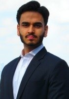 A photo of Alif, a tutor from Boston University