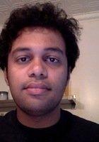 A photo of Arun, a tutor from George Washington University