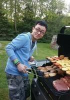 A photo of Shuang (John), a tutor from Syracuse University