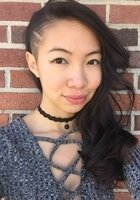 A photo of Ziyue, a tutor from Swarthmore College