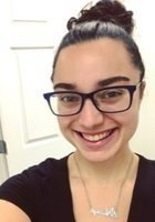 A photo of April, a tutor from Rowan University