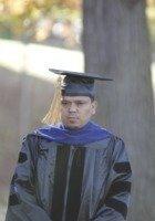 A photo of Manoj, a tutor from Tribhuvan University, Kathmandu Nepal