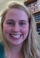 A photo of Ellen, a tutor from Oberlin College